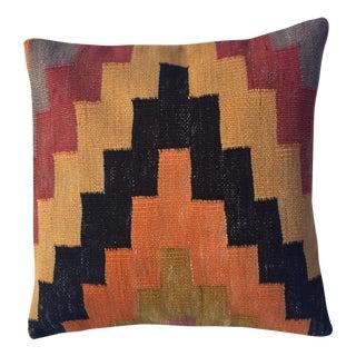 Vintage Multicolor Kilim Pillow Cover