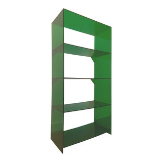 Green Acrylic Minimalist Display Shelf