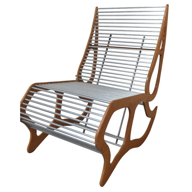 Mid-Century Modern Abstract Chair - Image 1 of 8
