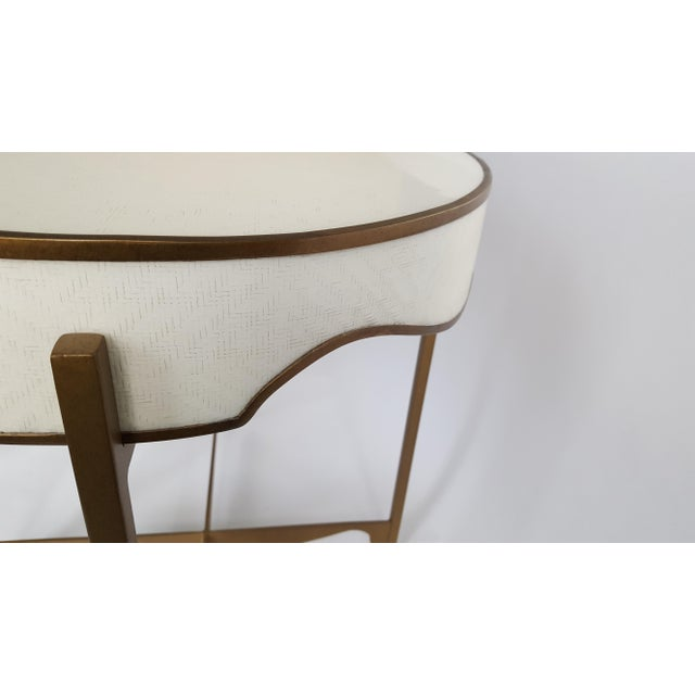 Gabby Trudy Oval Side Table - Image 3 of 5