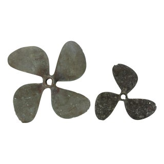 Antique Boat Propellers- Set of 2