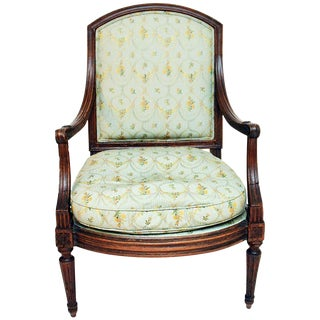 Antique 19th C. French Fauteuil Armchair