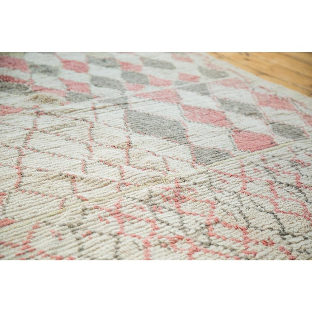 """Vintage Moroccan Square Rug - 5'8"""" x 5'9"""" - Image 4 of 5"""