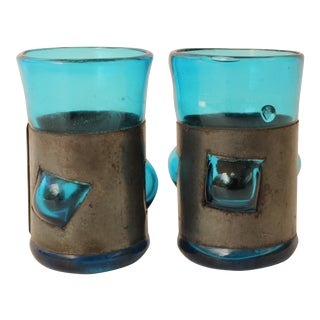 Imprisoned Glass Shot Glasses - Pair