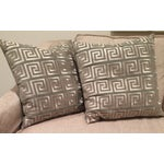 Image of Greek Key Pillows - A Pair