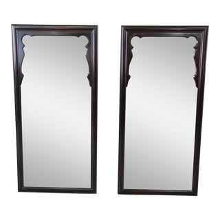 Mid-Century Chinoiserie Mirrors - a Pair