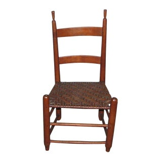 Antique American Cherry Chair