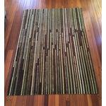 Image of Emma Gardner 'Tiny Stripes' Rug - 6′ × 9′