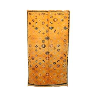 "Vintage Moroccan Berber Rug - 4'1"" x 7'4"""