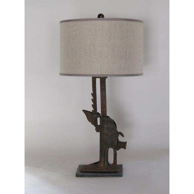 Image of 19th C. Simplex Iron Jack Lamp