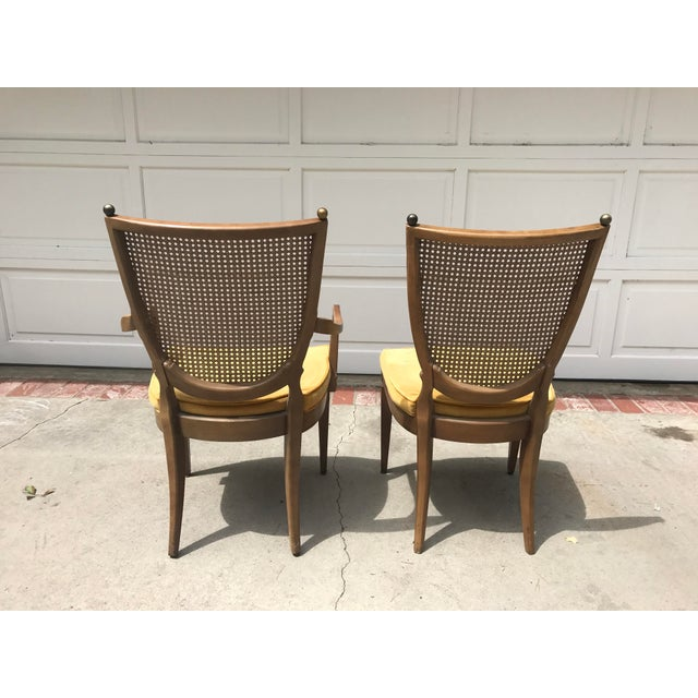 Vintage Caned Back Chairs - A Pair - Image 7 of 7