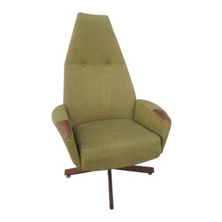 Adrian Pearsall Lounge Chair With Swivel Base