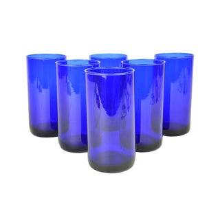 Cobalt Cocktail Glasses - Set of 6