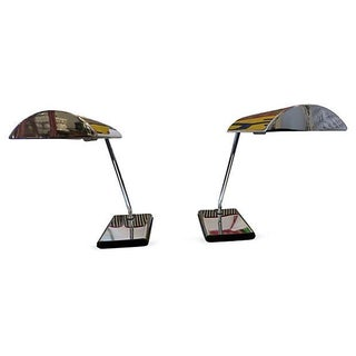 Koch and Lowy Task Lamps - A Pair