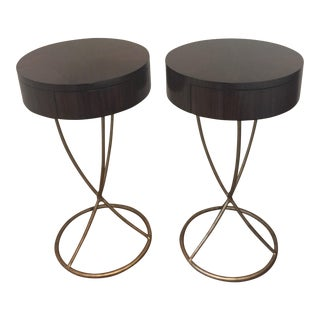 Aquarius Janus Accent Tables - A Pair