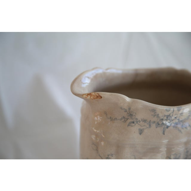 Antique English Transferware Pitcher - Image 8 of 8
