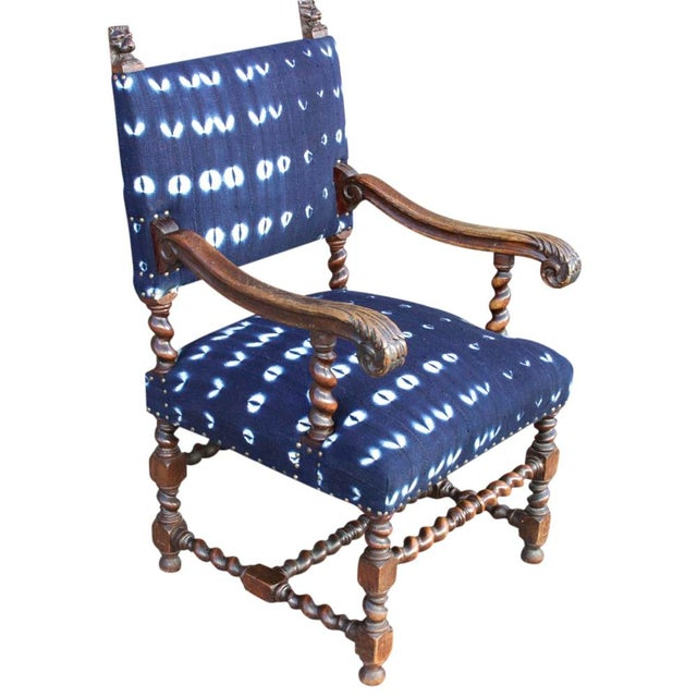 Boho Reupholstered Chair