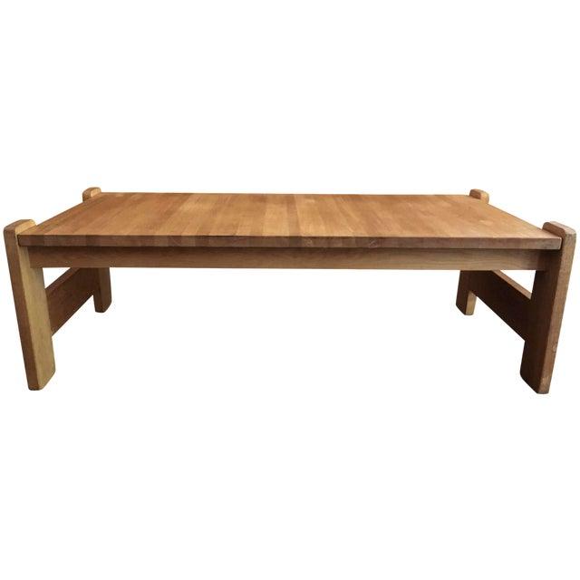 Danish Modern Wooden Coffee Table Chairish