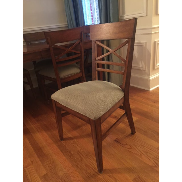 Ethan Allen Dining Table & Chairs - Image 4 of 8