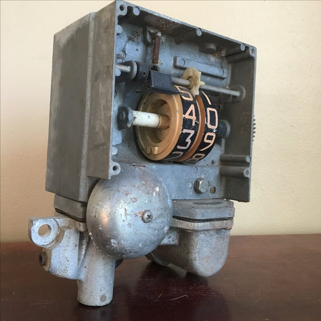 Image of Industrial Chic Gas Pump Counter Object