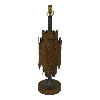Tom Greene Brutalist Table Lamp