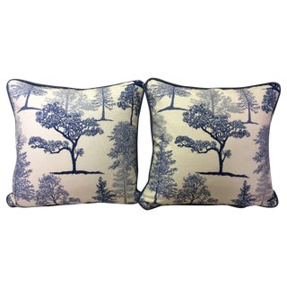 Treeline Cotton Pillows - A Pair
