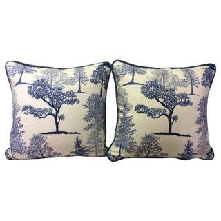 Treeline Cotton Pillows - A Pair