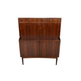 Danish Modern Rosewood Secretary Bar