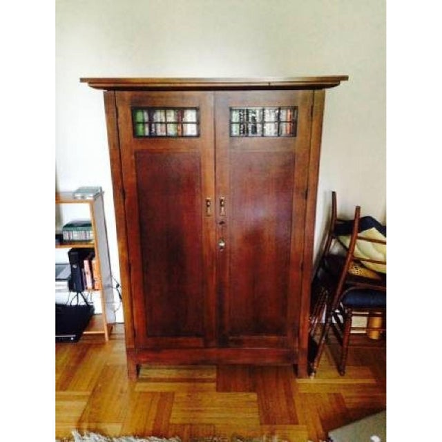 Crate And Barrel Arts And Crafts Armoire