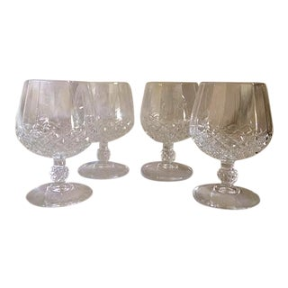 Cristal d'Arques-Longchamp Brandy Snifters- Set of 4