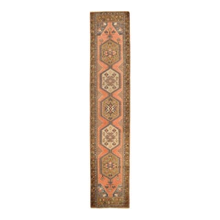 Surena Rugs Handmade Vintage Turkish Runner - 2' 5'' x 12' 8''