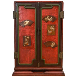 Meiji Period Japanese Ten-Drawer Cabinet