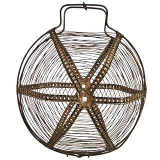 French Wirework Salad Basket