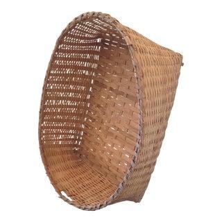 1920s Split Oak Moses Basket