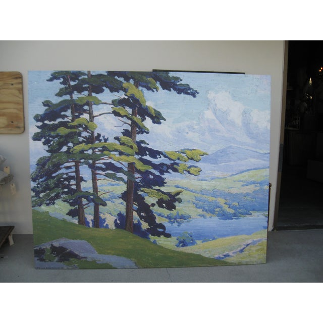 California Hills Canvas On Wood Frame - Image 4 of 9