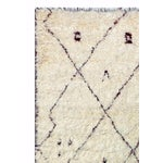 Image of Moroccan Shag Style Wool Area Rug - 8' X 10'