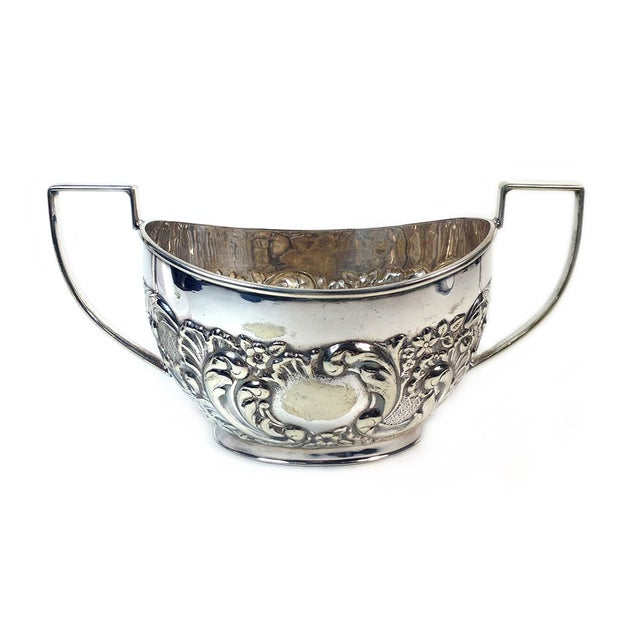Vintage Sheffield Silverplate Sugar & Creamer - Image 2 of 5