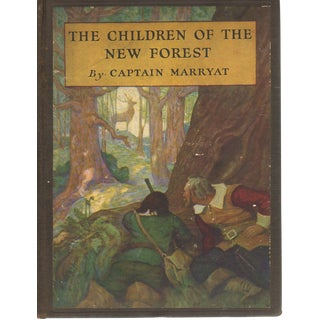 """""""The Children of the New Forest"""" 1927 Book"""