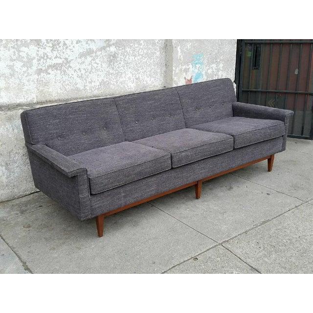 Gray Mid-Century Style Sofa - Image 5 of 7