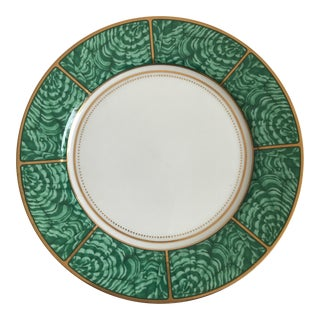 Georges Briard Imperial Malachite Plate