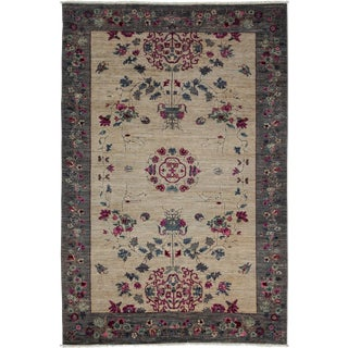 Ziegler Hand Knotted Area Rug - 5' X 7'6""