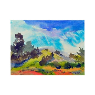 Blooming Hills by Les Anderson Painting