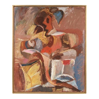 Gerald Wasserman Seated Cubist Figure