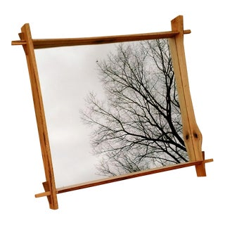 Live Edge Oak Mirror