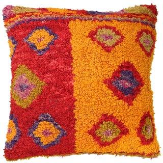 Vintage Tulu Carpet Pillow