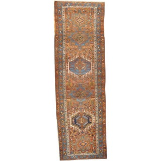 """Pasargad NY Antique Persian Karajeh Hand-Knotted Rug - 2'10""""x9'"""