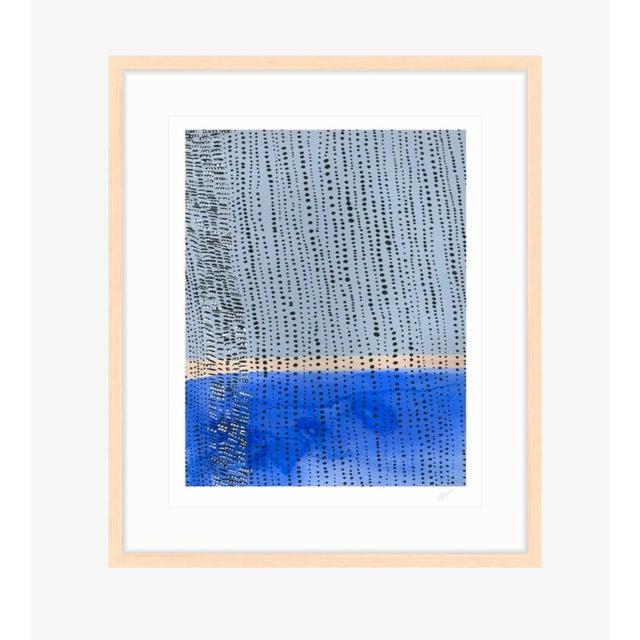 "Shorelines IV - Watercolor Print - 11"" X 14"" - Image 2 of 4"