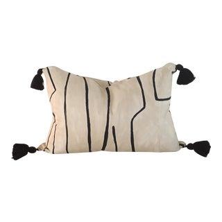 Kelly Wearstler Graffito Tassel Pillow