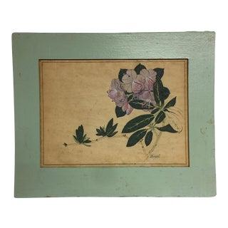 Antique Orientalism Flower Painting