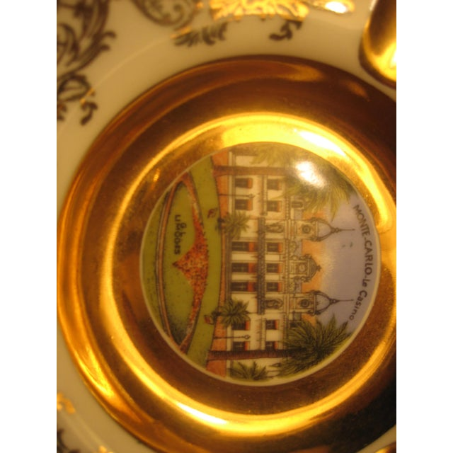 Collectible Vintage Limoges Monte Carlo Ashtray - Image 3 of 4